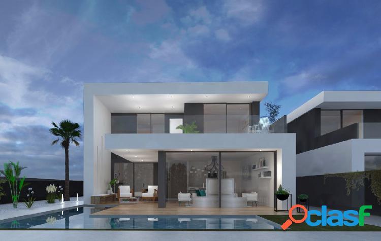 Maravillosa villa de lujo de 3 dormitorios en Santiago de la