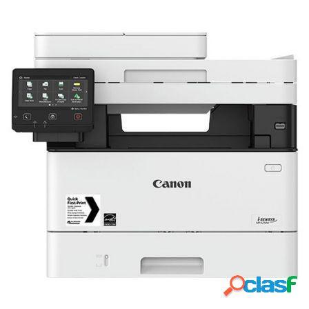 Multifuncion canon wifi con fax laser i-sensys mf421dw -