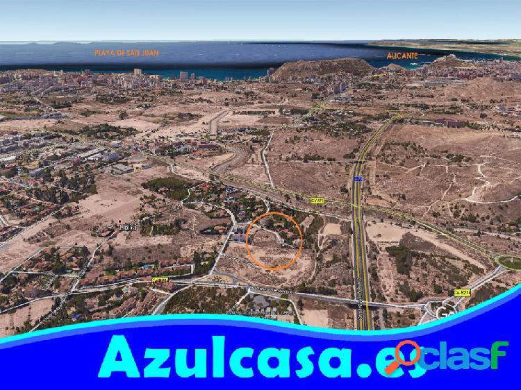 Parcela urbana en Finca Lloixa San Juan de Alicante
