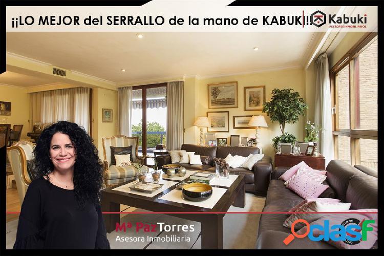 Precioso y acogedor piso de lujo en el Serrallo, con A.A.,