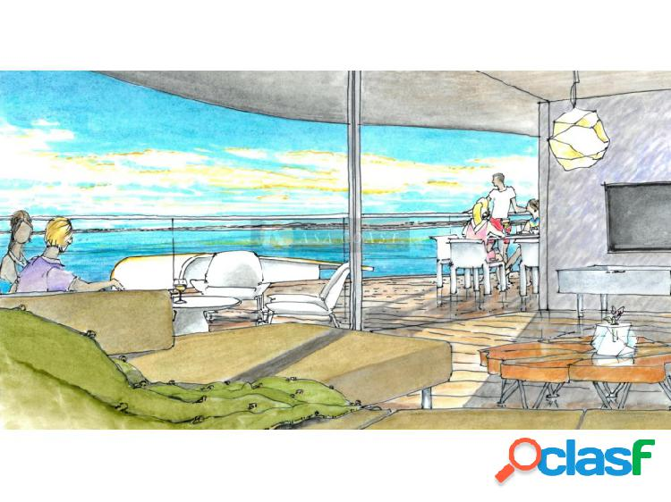Promoción de pisos en construcción en 3º línea de playa