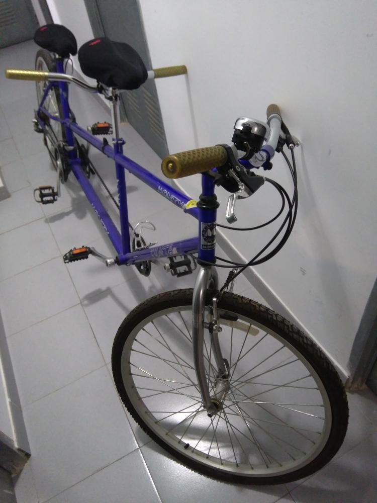 Se vende bicicleta de montaña tandem