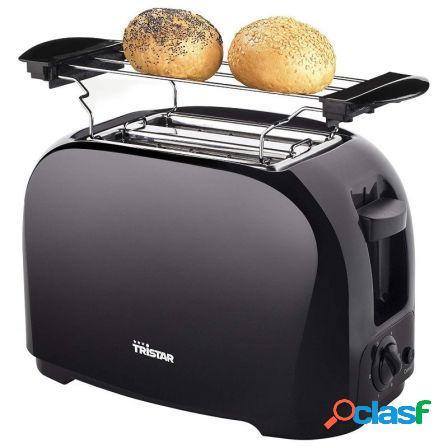 Tostador de pan tristar br-1025 - 800w - 2 ranuras cortas -