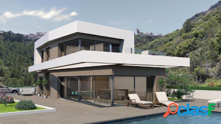 Villa de nueva construcción en Dénia