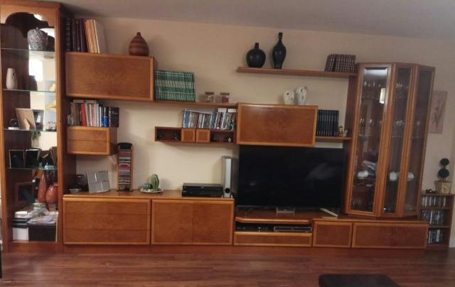 Muebles de salón color cerezo