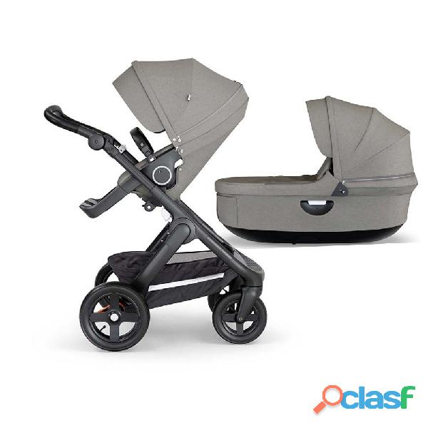 Stokke® Trailz ™ Black Complete Brushed Gray Elija su