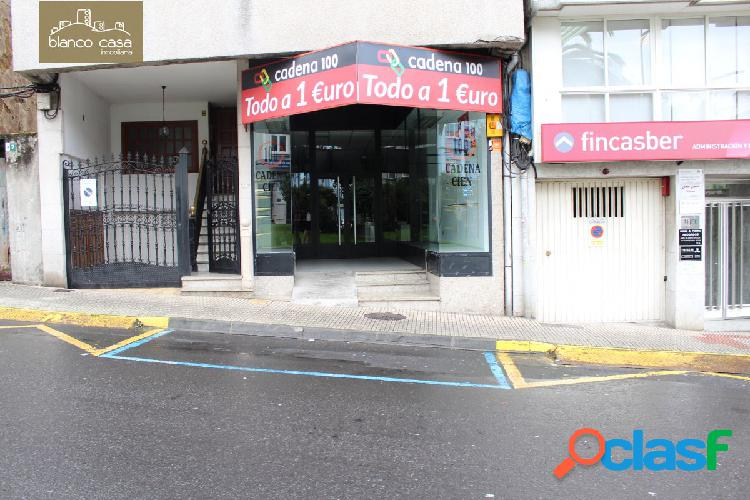 Alquiler de local comercial en Praza de Galicia