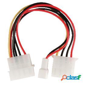Cable adaptador de alimentación interna, molex macho -