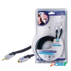 Cable de extensión de audio estéreo 3.5 mm macho - 3.5 mm