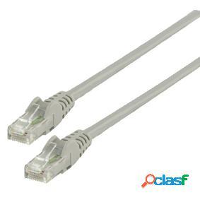 Cable de red utp cat 6 de 1.00m gris