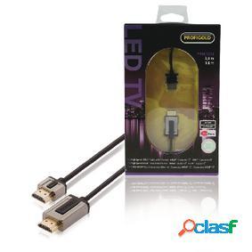 Cable hdmi- de alta velocidad con interconexión ethernet de