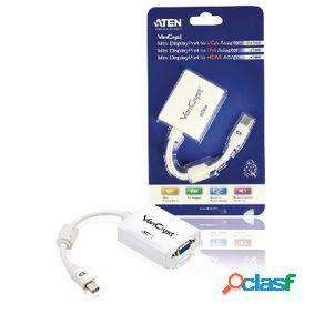 Cable mini displayport macho - vga macho 0.15 m blanco