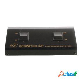 Caja de control de altavoz de 2 vías