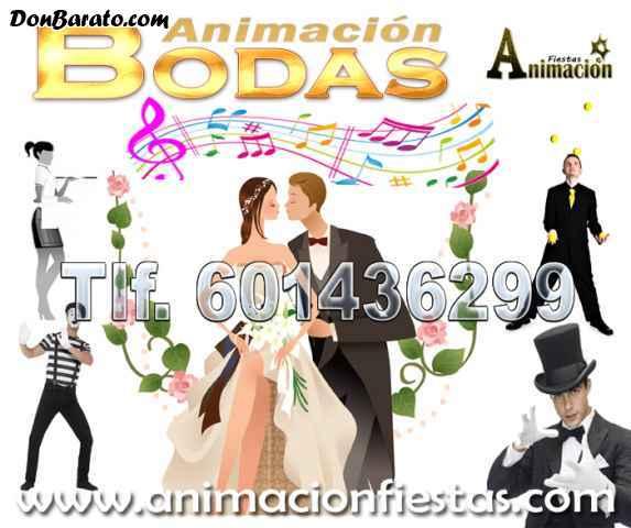 Espectáculos para animación de boda