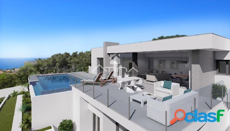Fantástica villa en construcción situada en zona Cumbres