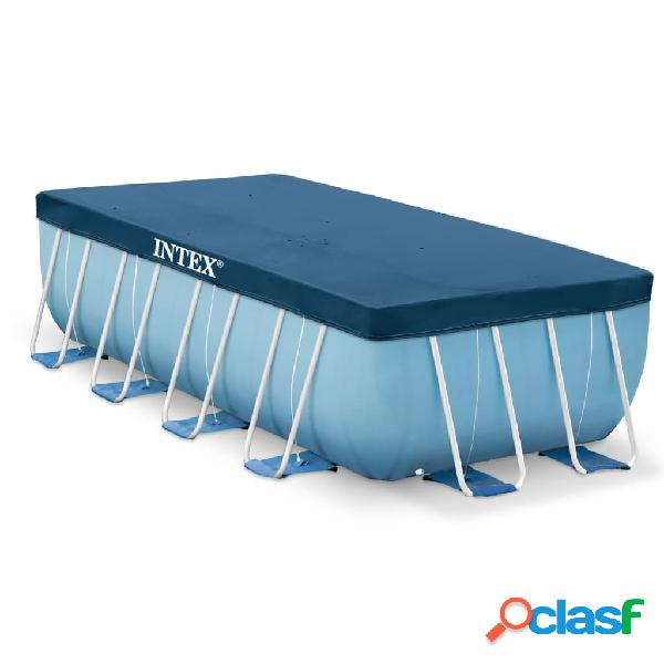 Intex Cubierta de piscina rectangular 400x200 cm 28037
