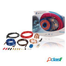 Kit de instalación de amplificador de coche de 1500 w y 2