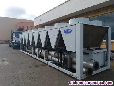 Maquina enfriadora aire agua carrier 30xa capacidad 1.