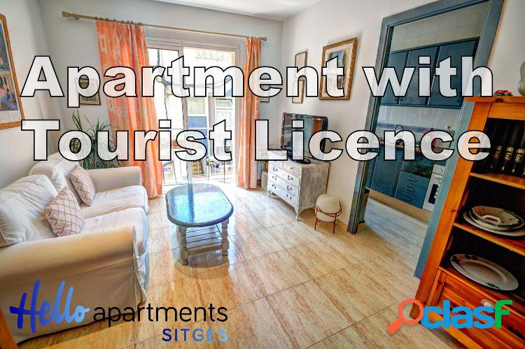 Piso con Licencia Turistica en el Centro- Parellades-