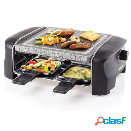 Raclette princess 162810 stone grill party - 600w - incluye