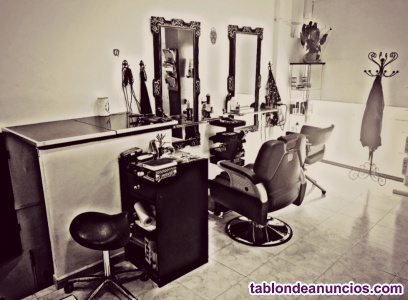 Transpaso peluquería barbería