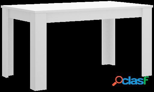 Wellindal Mesa de comedor Dine extensible 140-191 cm Gris