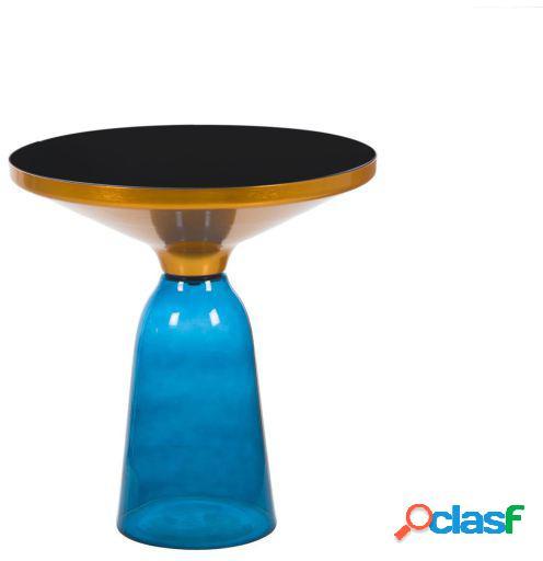 Wellindal Mesita De Café Belling 50 Azul Inspiración De