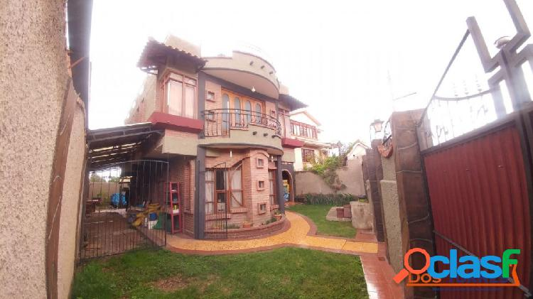 123.000$ km8 Villazon casa cerca UDABOL, ideal para generar