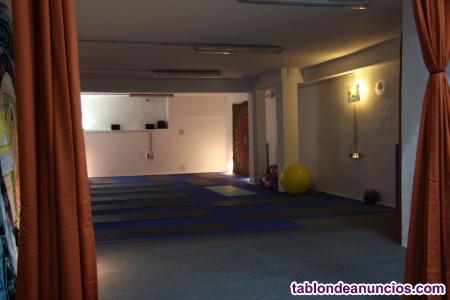 Alquiler de sala por horas con tatami para yoga,