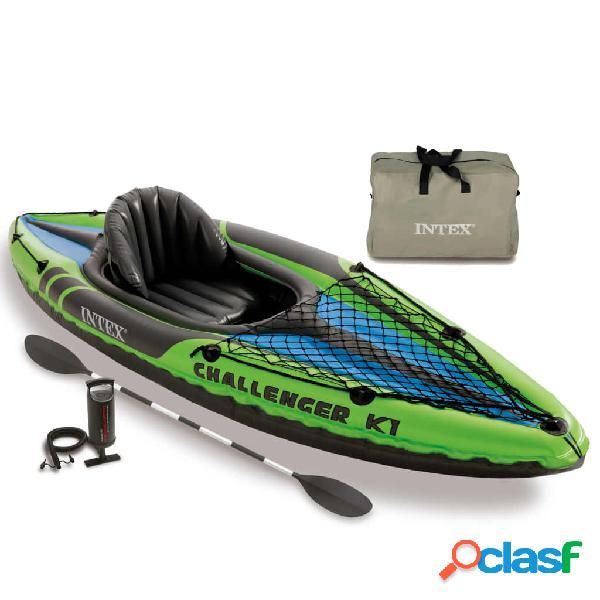 Intex Kayak inflable Challenger K1 274x76x33 cm 68305NP