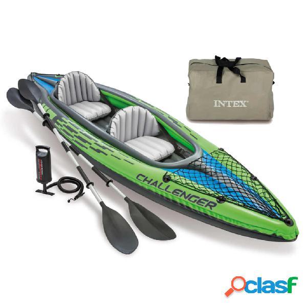 Intex Kayak inflable Challenger K2 351x76x38 cm 68306NP