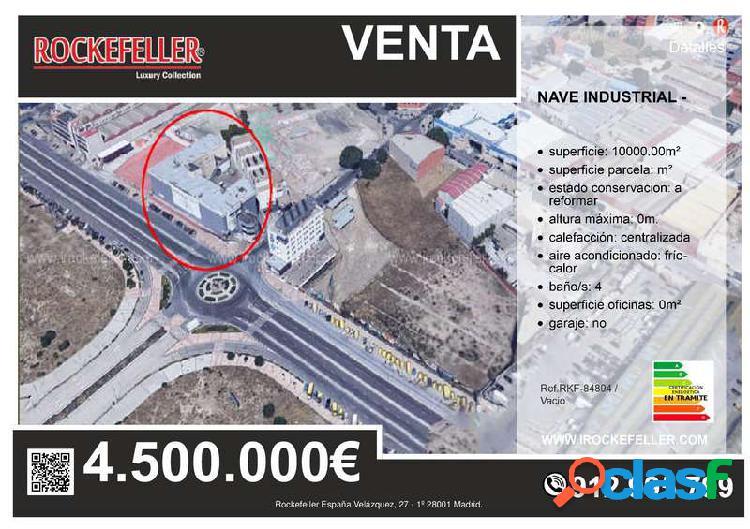 Venta Nave industrial - Madrid [84894/Vacio]