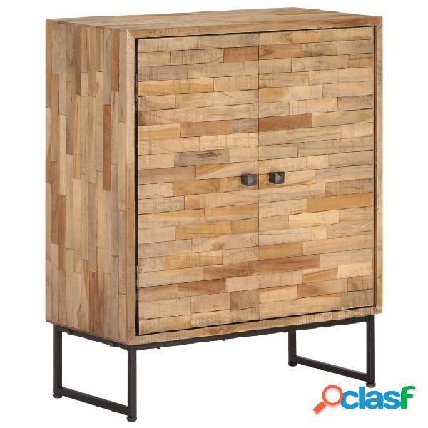 Aparador de madera de teca reciclada 60x30x75 cm