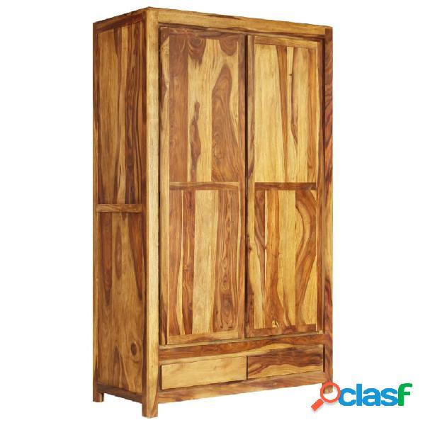 Armario de madera maciza de Sheesham 110x55x190 cm