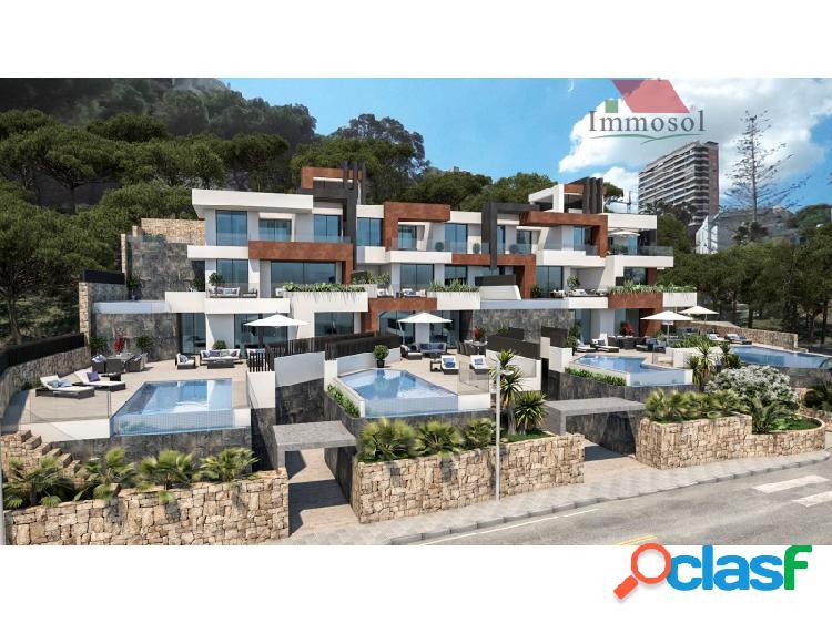 Lujosos apartamentos a pie de playa