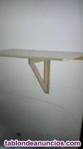 Mesa plegable de pared