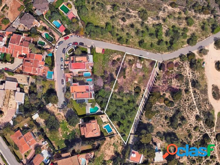 Parcela urbana en el Vedat de Torrent
