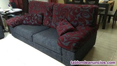 Sofas de 2 y 3 plazas en tela.