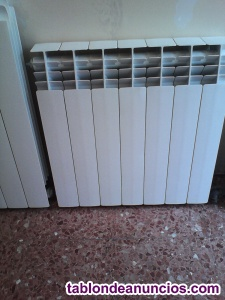 Vendo radiador de aluminio de 7 módulos (en