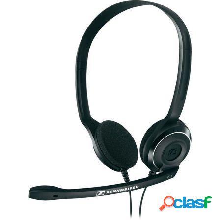 Auriculares diadema con microfono sennheiser pc 8 usb