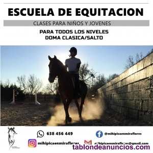Clases de equitacion madrid
