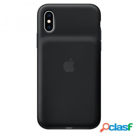 Funda apple smart battery case iphone xs funda bateria negro