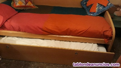 Mueble con cama nido