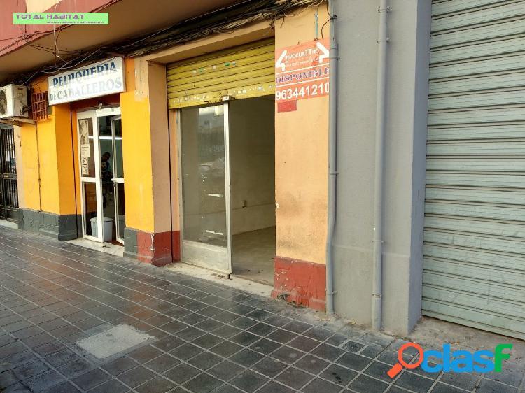 OCASIÓN SE ALQUILA LOCAL COMERCIAL 80 M2 CONSTRUIDOS