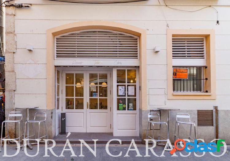 Traspaso de restaurante en zona centro de Sitges