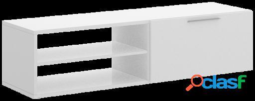 Wellindal Bajo Tv Soho con 1 puertas y estante
