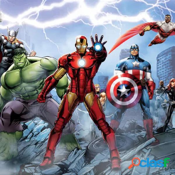 AG Design Papel de pared fotográfico Avengers FTD2230