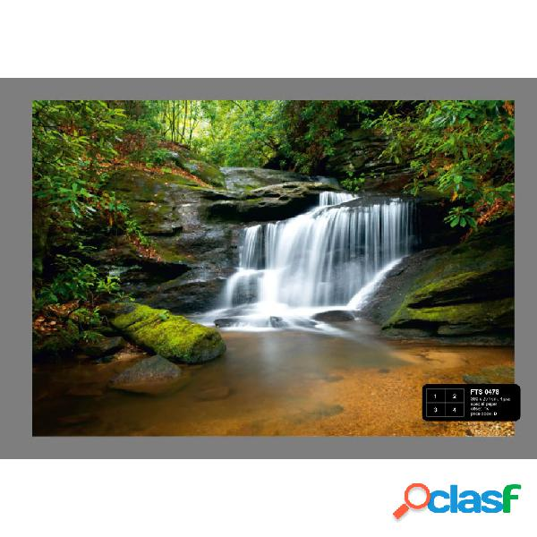 AG Design Papel de pared fotográfico Waterfall FTS0478