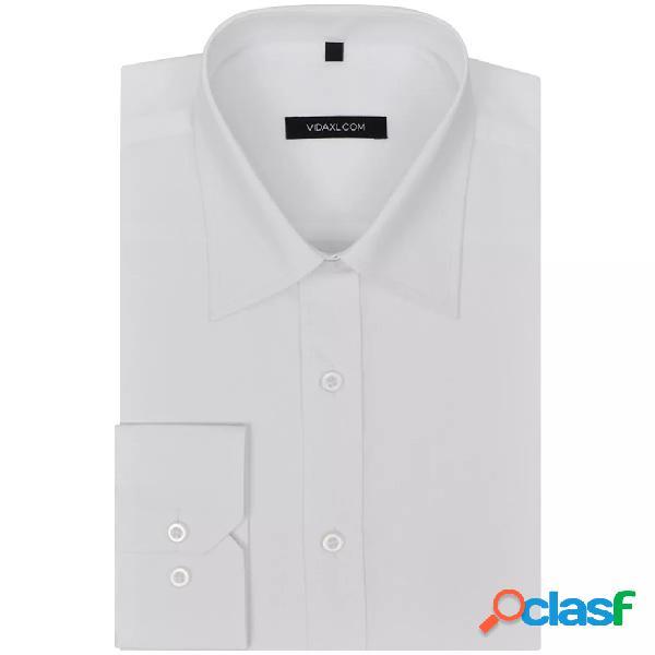 Camisa de vestir de hombre talla M blanca