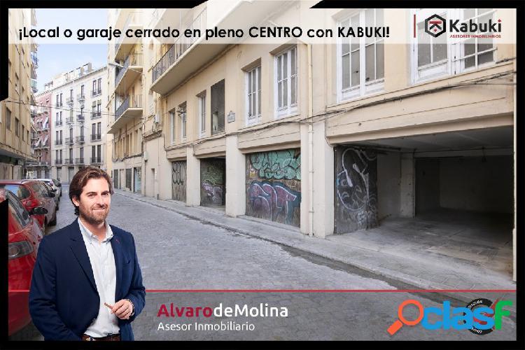 Estupendo garaje en pleno centro de Granada, si estás harto